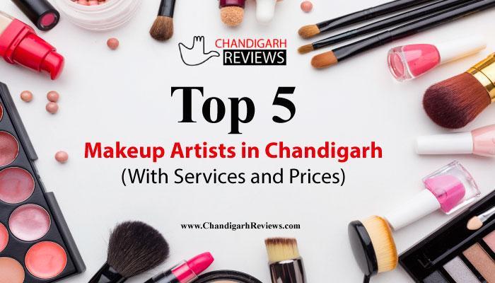 Top 5 Makeup Artists in Chandigarh