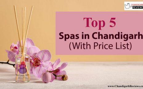 Top 5 Spas In Chandigarh